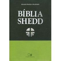 Bíblia Shedd - Duotone Verde Frete Gratis