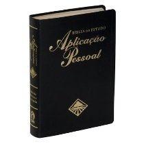 Bíblia De Estudo Aplicação Pessoal Média Preta