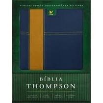 Bíblia De Estudo Thompson Luxo Bicolor Com Índice.largospel