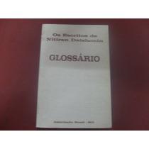Glossário - Os Escritos De Nitiren Daishonin - 1ª Ed - 2004