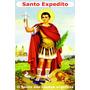 Santinho - Milheiro - Santo Expedito - A Cores