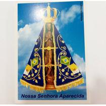 Santinho Com Imagem E Oração Nossa Senhora Aparecida 1000un
