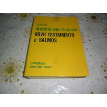 Novo Testamento E Salmos Japan Bible Society Bilíngue