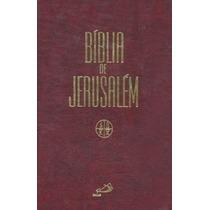 Biblia De Jerusalem Capa Dura, Media