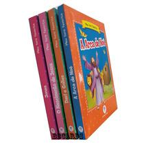 Kit Livros Infantis Histórias Bíblicas Jesus Noe Davi Jonas