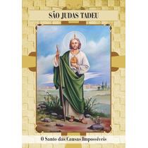 Santinho São Judas Tadeu - Milheiro De Promessa E Oração