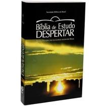Bíblia Estudo Despertar 12 Passos Capa Brochura Brinde