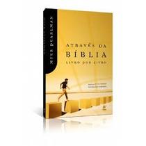 Livro Através Da Bíblia Livro Por Livro - Myer Pearlman