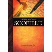 Bíblia De Estudo Scofield Capa Flexível - Frete Grátis!!