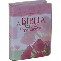 Biblia Da Mulher Media (rc) + Protetor Capa Frete Gratis