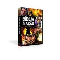 Bíblia Em Ação Quadrinhos 15 Unidades