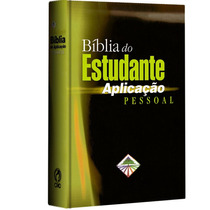 Bíblia Do Estudante De Aplicação Pessoal - Capa Dura * Cpad