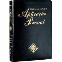 Bíblia De Estudo Aplicação Pessaol Gd Preta-frete Grátis