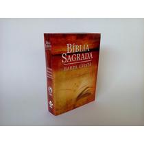 Bíblia Sagrada Harpa Cristã Barata Evangelismo Capa Plástica