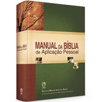 Livros: Manual Da Bíblia De Aplicação Pessoal / Editora Cpad