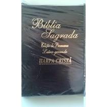 Biblia Sagrada C/harpa, Índice E Ziper Letra Grande