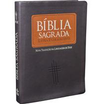 Bíblia Sagrada Letra Extra Gigante Ntlh Linguagem De Hoje