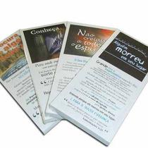 Folhetos Para Evangelismo - Kit C/ 10 Pcts (1 Milheiro).