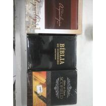 Bíblia Cronologica Luxo,scofield,guerreiro Preta