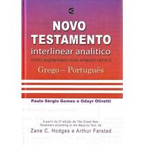 Novo Testamento Interlinear Analítico Grego Português