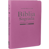 Bíblia Sagrada Feminina Grande Almeida Atualizada - Rosa
