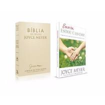 Bíblia De Estudo Joyce Meyer E Livro Socorro, Estou Casado!