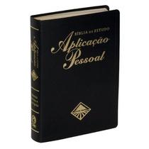 Bíblia De Estudo Aplicação Pessoal Média Luxo Preta