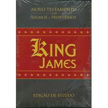 Novo Testamento C/ Salmos E Provérbios King James |ed Estudo