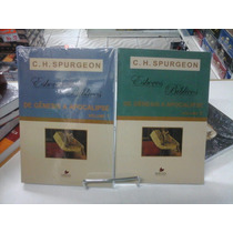Livro Esboços Bíblicos Spurgeon Genises A Apocalipse 2 Volu