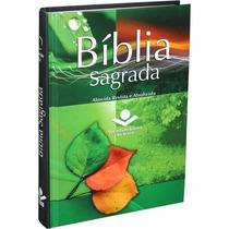 Kit 20 Bíblias Sagrada Almeida Revista E Atualizada Cap Dura