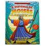 Livro Infantil Em Adesivos A História De Moisés - 3 A 7 Anos