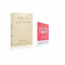 Kit Bíblia Joyce Meyer E Livro Um Novo Dia, Um Novo Você