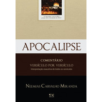 Apocalipse Versículo Por Versículo Livro Frete Grátis