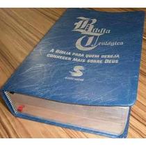 Biblia De Estudo Teológica - Frete Grátis