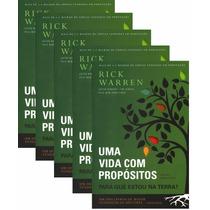 Livro - Uma Vida Com Propósitos - Rick Warren - Kit Com 10