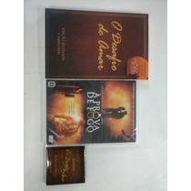 Livro Desafio De Amar, Dvd Prova De Fogo E Cartão Desafiokit