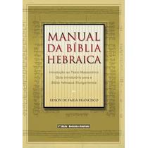 Manual Da Bíblia Hebraica 3@ Edição Frete Grátis