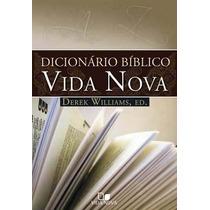 Dicionário Bíblico Vida Nova Derek Williams