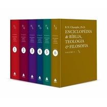 Enciclopédia De Bíblia Teologia E Filosofia 6 Vol Frete Grát