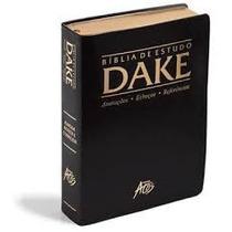 Bíblia De Estudo Dake - Promoção