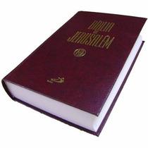 Biblia De Jerusalém 13,7x 21