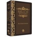 Bíblia De Estudo Mattew Henry Revista E Corrigida Marrom
