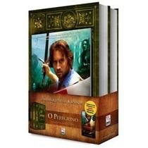 Kit O Peregrino 1 E 2 Livro + Dvd Frete Grátis