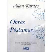 Obras Póstumas - Capa Plastica - Editora Ide - Normal
