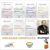 Coleção Completa Obrasbásicas Allan Kardec 07 Livros - Kit
