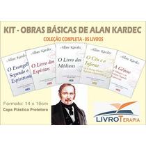 Kit Obras Básicas De Allan Kardec - 5unidades