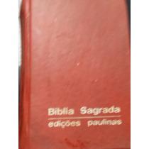 Bíblia Sagrada De Bolso Rara