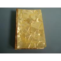 Antigo Livro Religioso Com Capa De Madrepérola Do Ano 1952