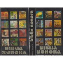 Coleção Completa Bíblia Sonora 6 Fitas K7 - 1 Cd Mp3 Gbm