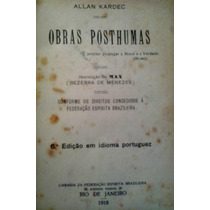 Obras Posthumas -1918- Allan Kardec -